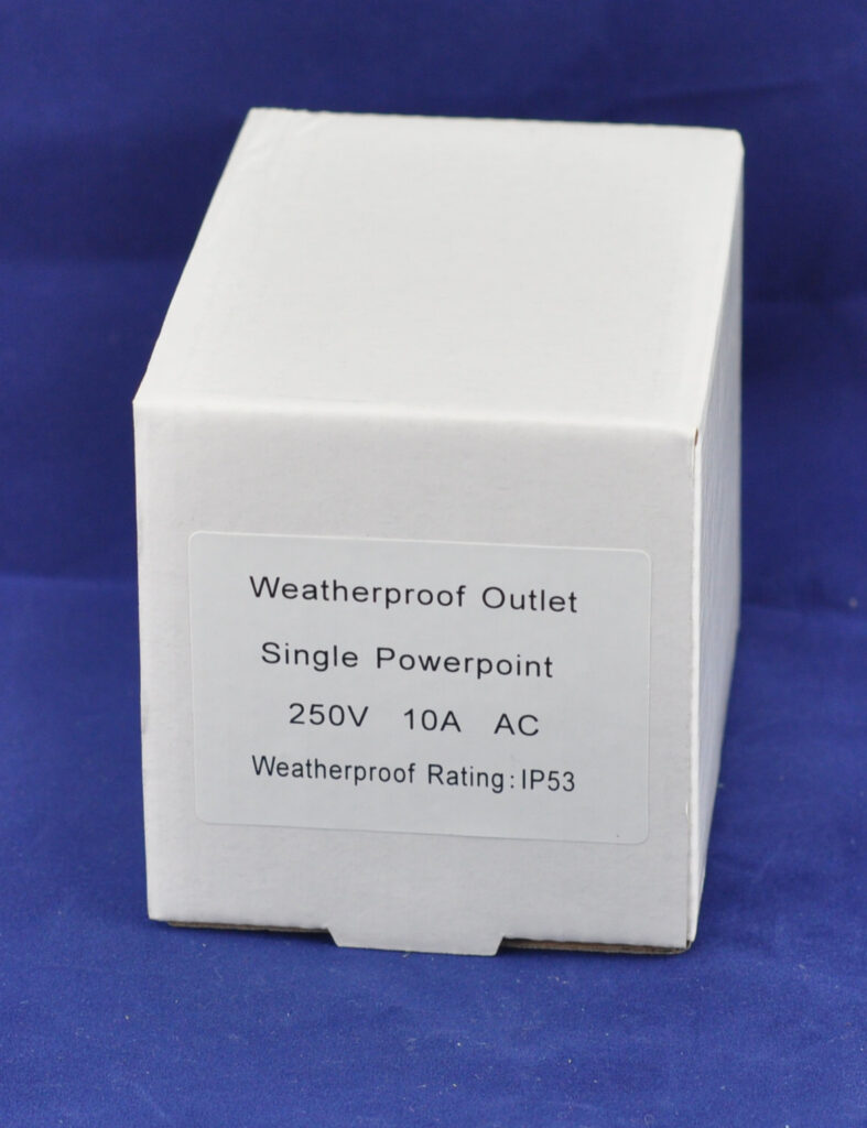 Weatherproof Single Powerpoint-FIXED ELECTRICAL